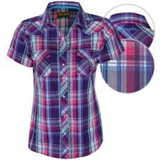 Wrangler Wmns Julianna Chk S/S Shirt