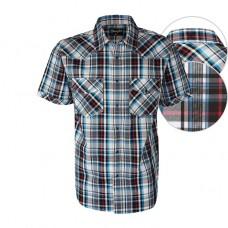 Wrangler Mns Beckett Chk S/S Shirt