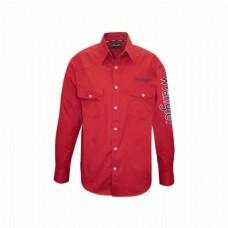 Wrangler Mens Mack Drill L/Shirt