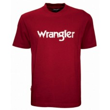 Wrangler Mens Chest Print Tee