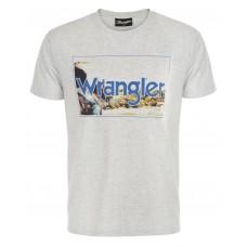 Wrangler Mens Rider S/S Tee