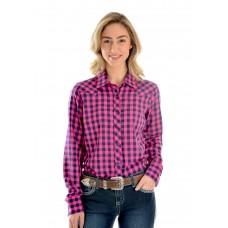 Wrangler Wmns Alexa Check L/S Shirt