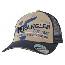 Wrangler Mens East Trucker Cap