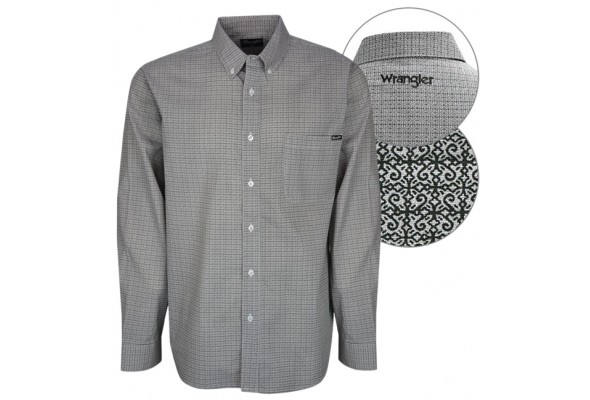 Wrangler Mens Alex Print Shirt