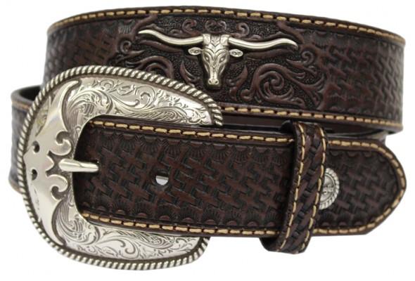 Wrangler Newton Leather Belt