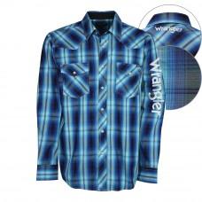 Wrangler Mens Axel Logo L/S Shirt