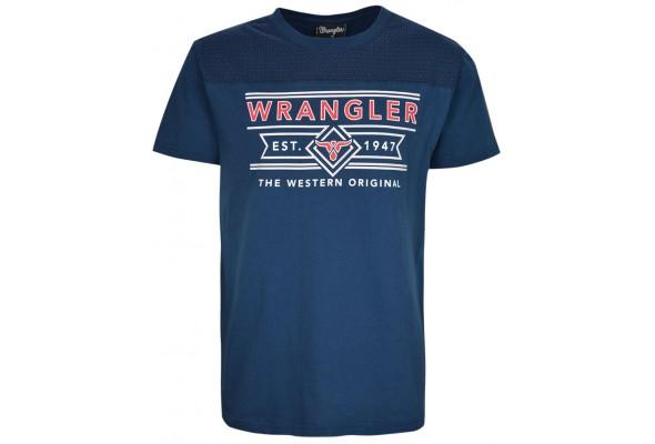 Wrangler Mens Duke S/S Tee