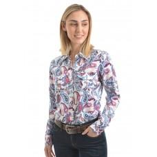 Wrangler Wms Zuri Print L/S Shirt