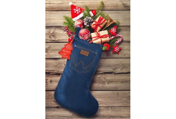 Wrangler Christmas Stocking