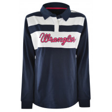 Wrangler Womens Claudia L/S Rugby