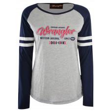 Wrangler Womens Tess Baseball Tee