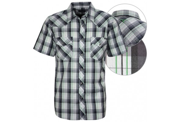 Wrangler Mens Hartley Check SS Shirt