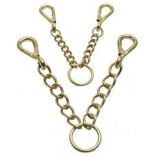 Zilco Brass Walsall Argosy Chain