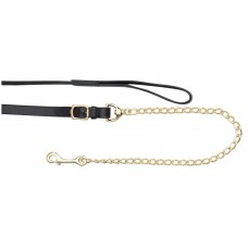 Zilco Leather Lead Solid Brass Chain HAV
